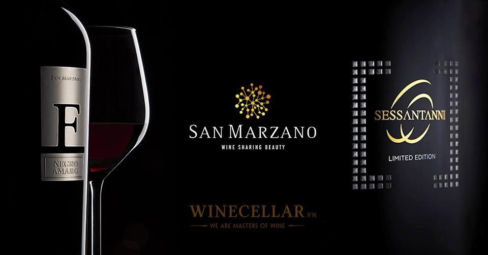 Vang con công Vindoro từ thương hiệu danh tiếng Cantine San Marzano