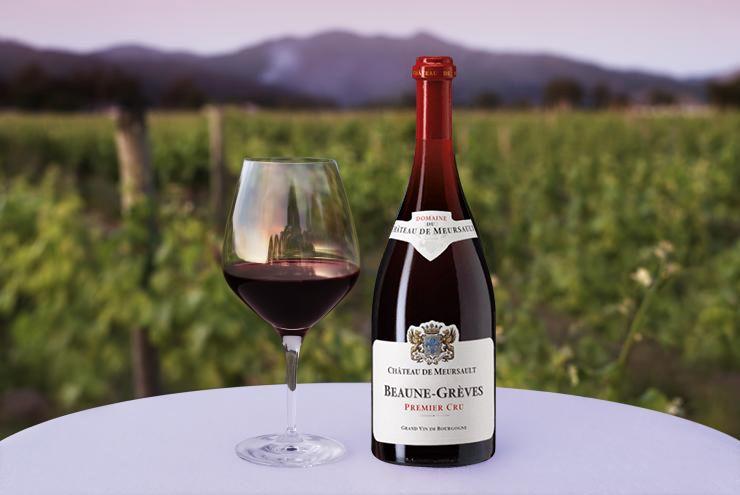 Rượu vang Chateau de Meursault Beaune-Greves