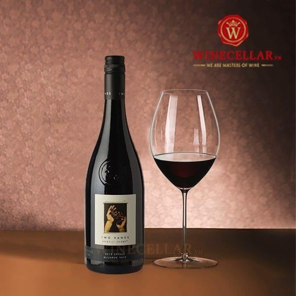 Rượu vang Two Hands Angels Share Shiraz