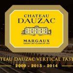 Chateau Dauzac Vertical Tasting