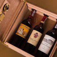 hộp 3 chai rượu vang pháp