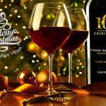 Bánh quy Giáng sinh kết hợp rượu vang