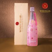Champagne Lanson Rose Label