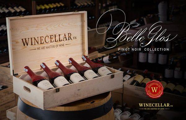 Bộ sưu tập rượu vang Belle Glos Pinot Noir