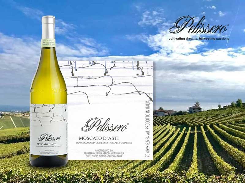 Rượu vang Moscato - Pelissero Moscato d'Asti hấp dẫn từ Piedmont Ý