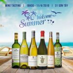 Welcome Summer Wine Tasting