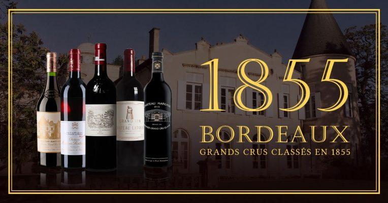 Bộ sưu tập những chai rượu vang Pháp nổi tiếng