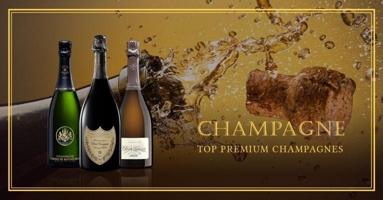 Những chai rượu vang Pháp nổi tiếng - Champagne