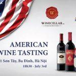 American Wines Tasting
