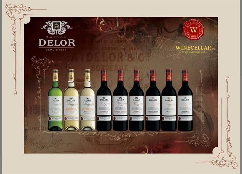 Bộ sưu tập rượu vang Maison Delor