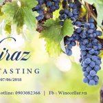 Tiệc thử nếm rượu vang Syrah Wines Tasting