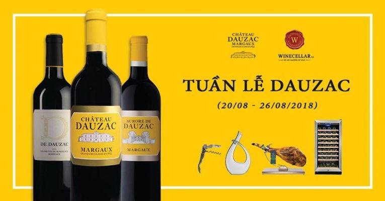Bộ sưu tập rượu vang Chateau Dauzac
