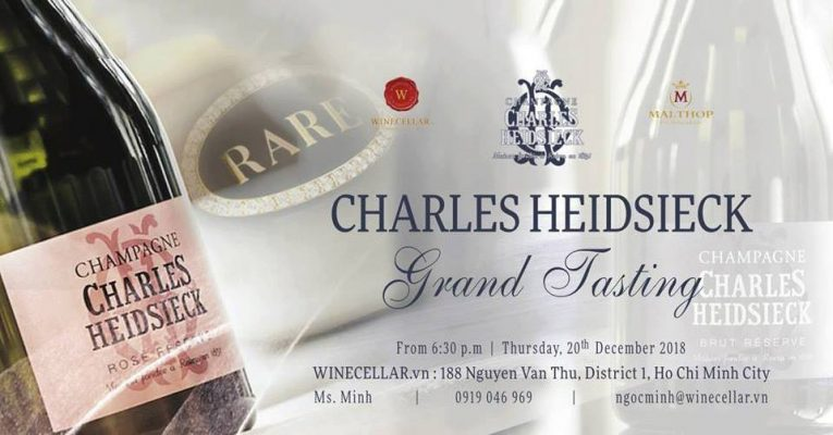 Charles Heidsieck Grand Tasting
