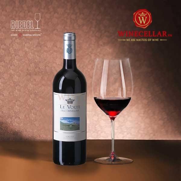 rượu vang Le Volte Dell'Ornellaia