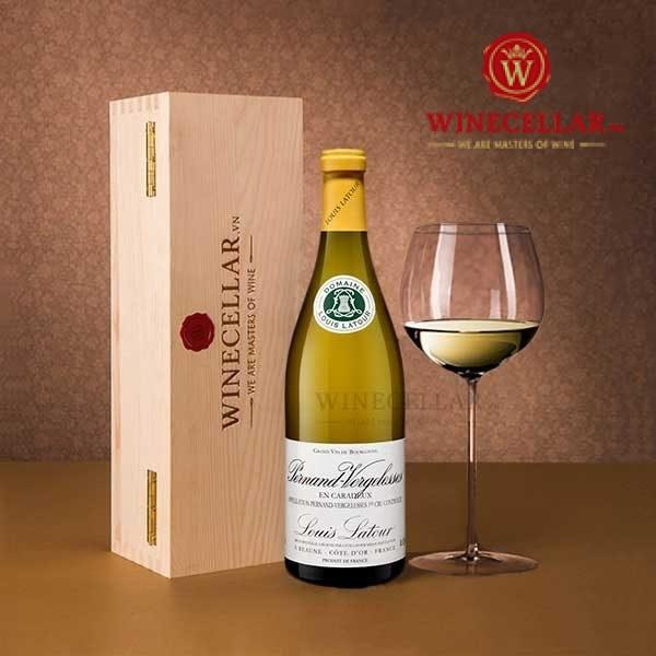 rượu vang Pernand-Vergelesses En Caradeux Louis Latour