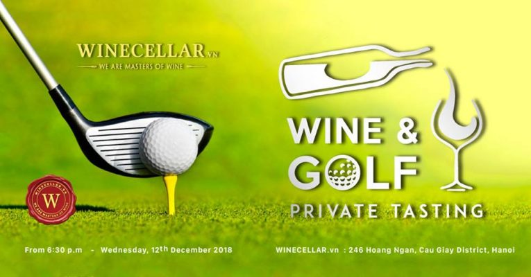 Wine and Golf Private Tasting
