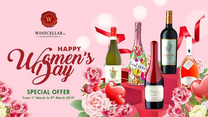 Special Offer for International Women's Day 2019