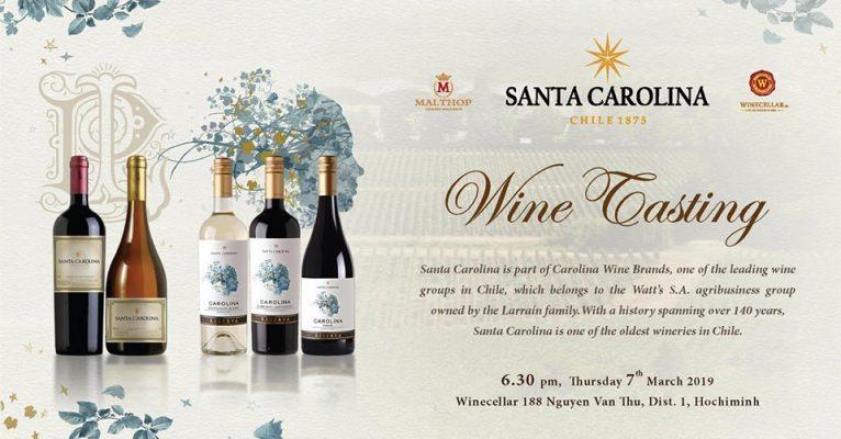 Santa Carolina Wine Tasting HCMC