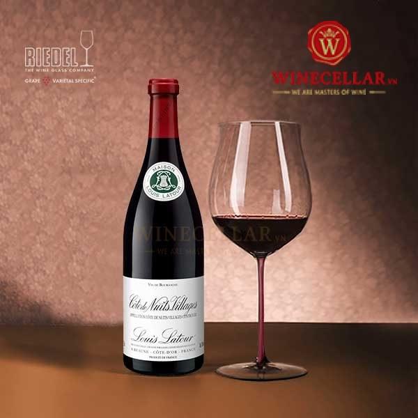 Rượu vang Louis Latour Côte De Nuits-Villages