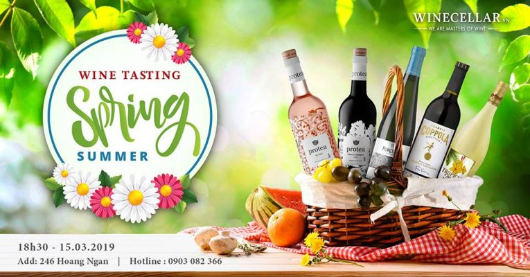 Spring Summer Season Wine Tasting