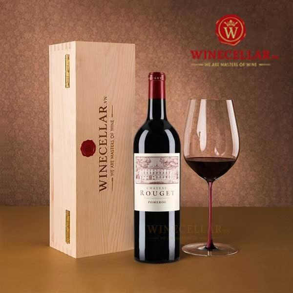 rượu vang Chateau Rouget