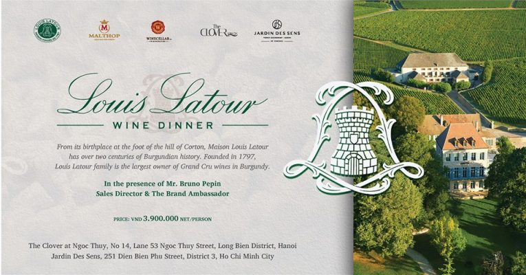 Louis Latour Wine Dinner