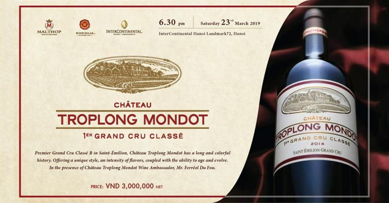Chateau Troplong Mondot Wine Dinner