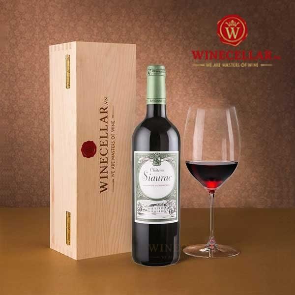 rượu vang Chateau Siaurac
