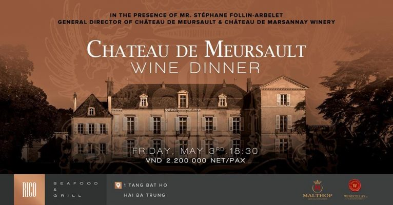 Chateau de Meursault Wine Dinner