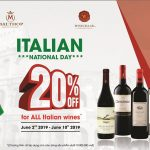 SPECIAL OFFERS FOR ITALIAN REPUBLIC DAY 2019