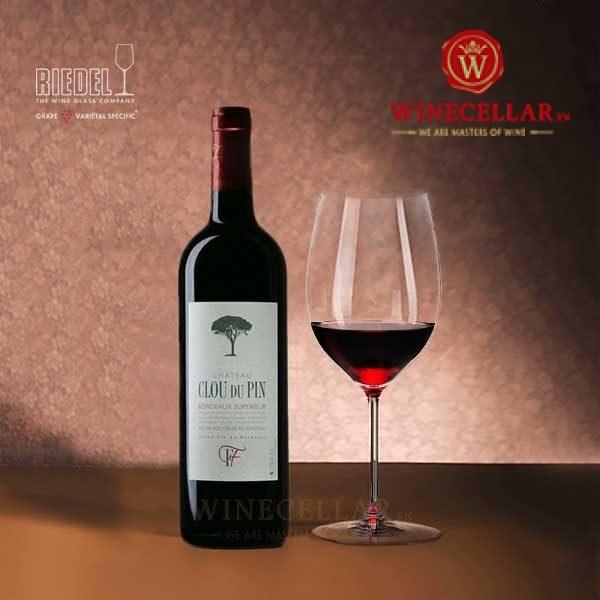 Rượu vang Chateau Clou Du Pin Bordeaux Supérieur