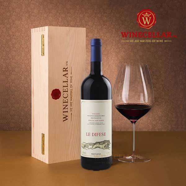Rượu vang Le Difese