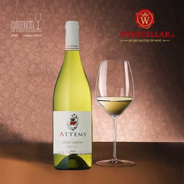 rượu vang Attems Pinot Grigio