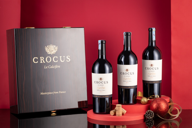 Ảnh 2: Rượu vang Crocus Le Calcifère Limited phiên bản đặc biệt