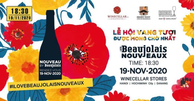Lễ hội vang tươi Beaujolais Nouveau Wine Festival 2020 ver 2