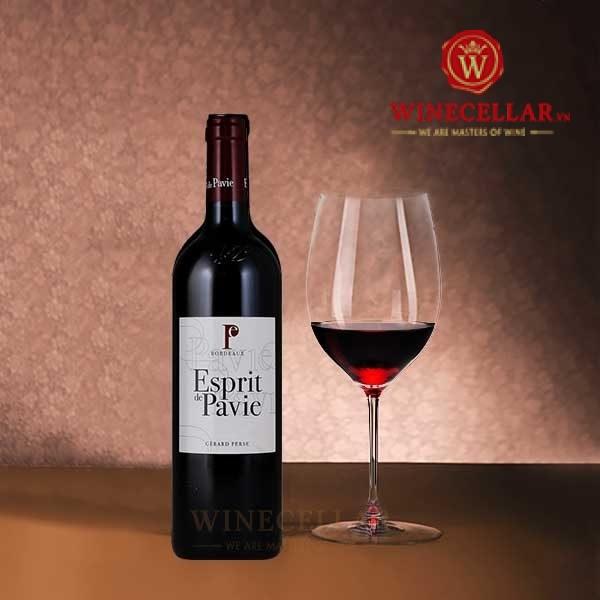 Rượu vang Esprit de Pavie