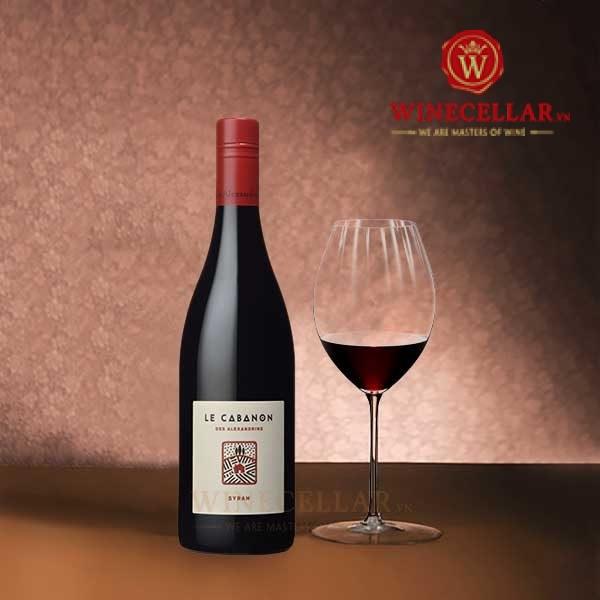 Rượu vang Le Cabanon Syrah