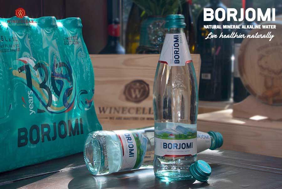nước khoáng tự nhiên Borjomi tại WINECELLAR.vn