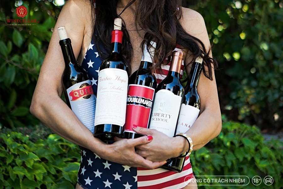 Rượu vang Paso Robles từ thương hiệu Hope Wines
