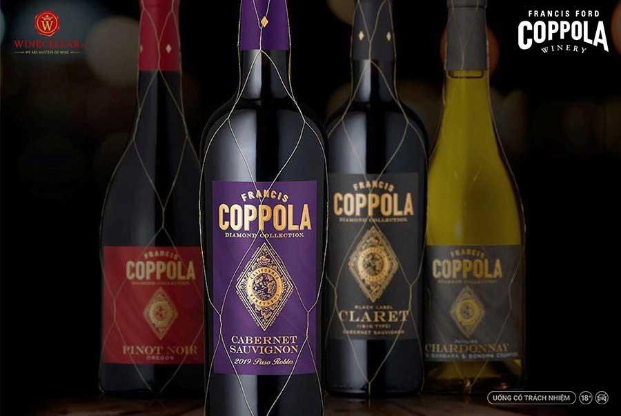 Bộ sưu tập rượu vang Coppola Diamond Collection
