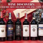 Hướng dẫn đọc nhãn chai rượu vang Ý