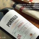 Hướng dẫn đọc nhãn chai rượu vang Chile, Argentina