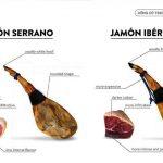 Hướng dẫn phân biệt Iberico ham và Serrano ham