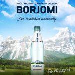 Khám phá hương vị nước khoáng thiên nhiên Borjomi