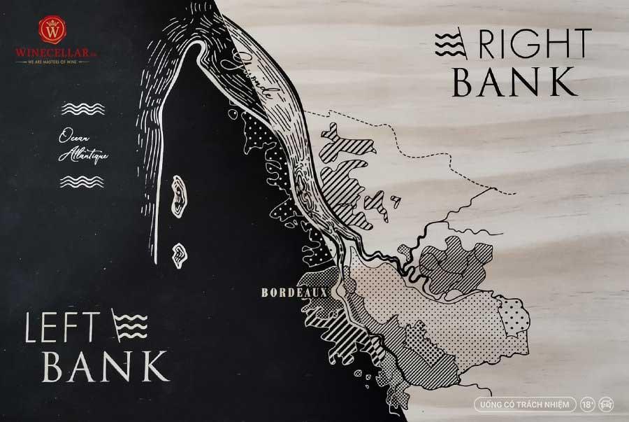 Ảnh 2: Bản đồ các vùng rượu vang tại Bordeaux