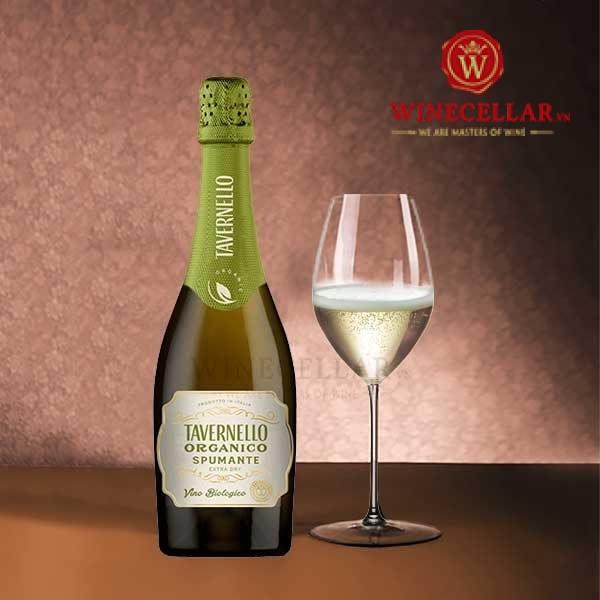 Rượu vang Tavernello Spumante D'italia Extra Dry