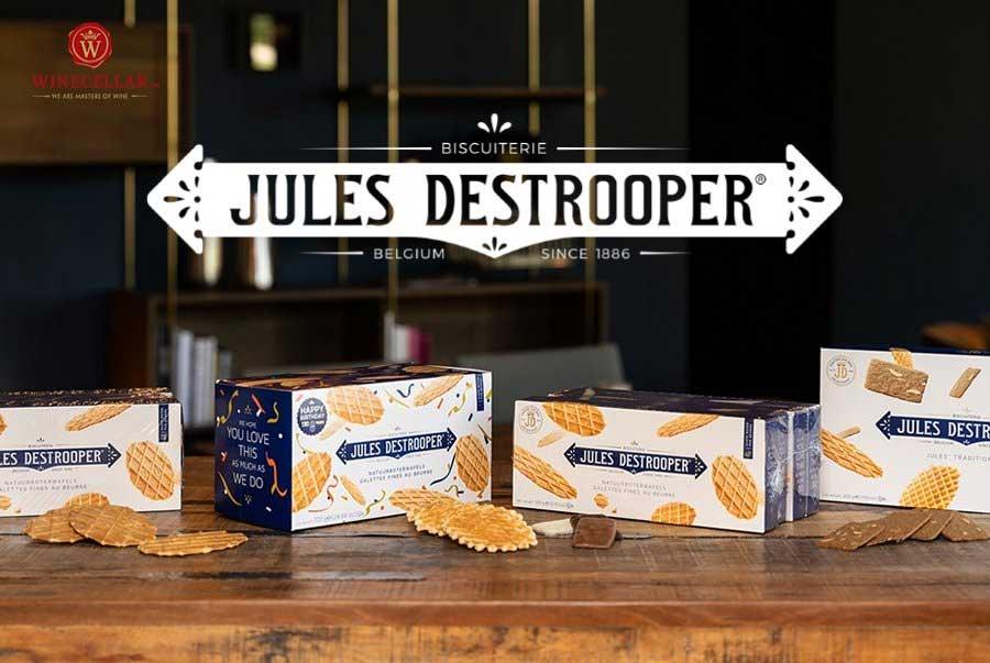 Ảnh 1: Bánh bỉ Jules Destrooper - thương hiệu bánh quy danh tiếng hàng đầu thế giới