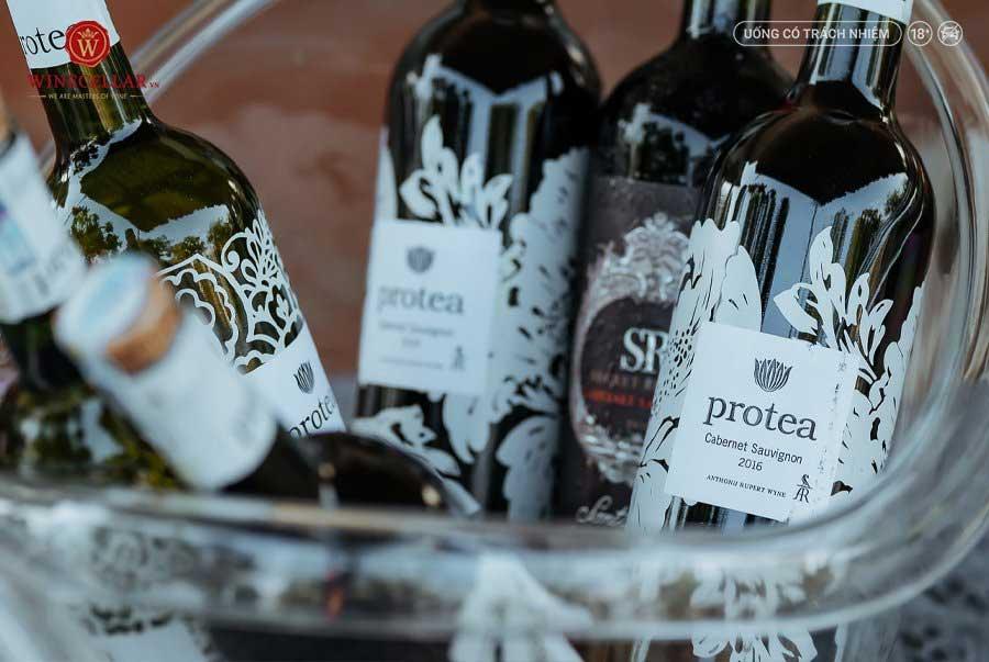 Ảnh 1: Rượu vang Nam Phi Protea Cabernet Sauvignon
