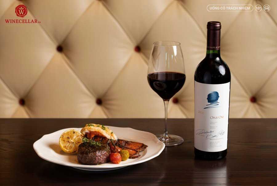 Rượu vang Opus One - tượng đài rượu vang Mỹ