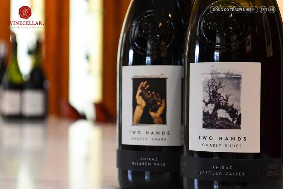 Ảnh 2: Rượu vang Úc Two Hands